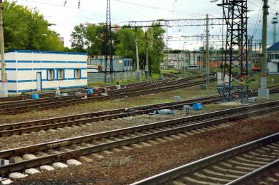 니즈니 노브고로드 역 주변 모습 05