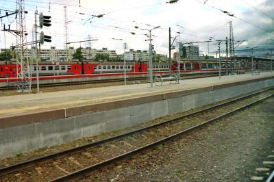 니즈니 노브고로드 역 주변 모습 20