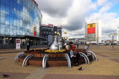 니즈니 노브고로드 역 광장 08