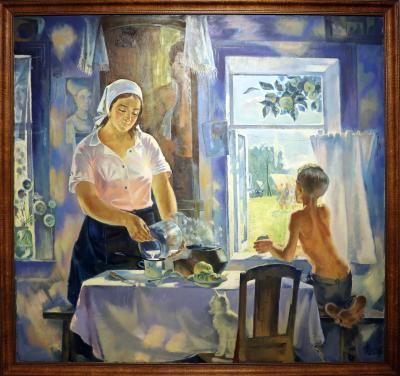 카잔 국립 미술관, 푸른 아침