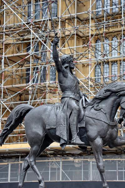 영국의회광장, 사자왕 리처드 동상 05