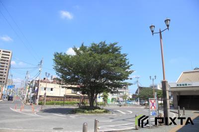히가시한노역, 서쪽 출입구