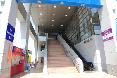 히가시한노역, 동쪽 출입구 02