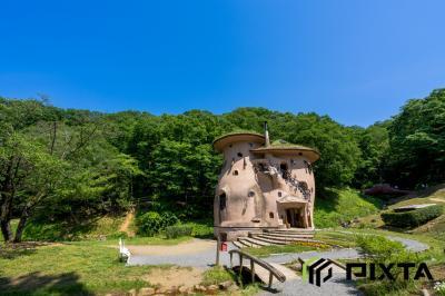 아케보노 어린이 숲 공원, 버섯의 집