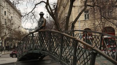 헝가리 의회 위대한 동상  08