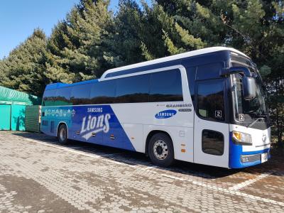 삼성 라이온즈 야구단(버스)