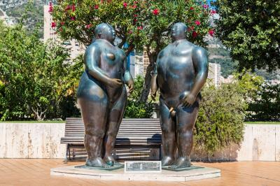 아담과 이브 동상
