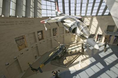 국립 해병대 박물관 내부