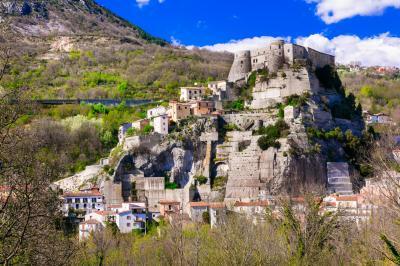 체로 알 볼투르노 마을 파노라마
