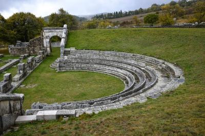 피에트라본단테 로마극장 유적지