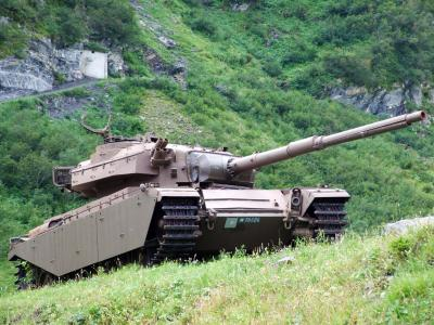 쉬스플라츠 뷔켄 군사기지 탱크