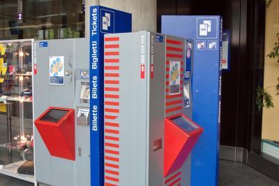 스위스 철도 (스위스 연방철도), 티켓 판매기 01