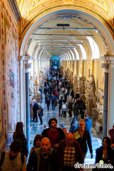 바티칸 박물관의 치아라몬티 박물관