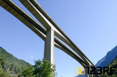비아쉬나 협곡 고속도로