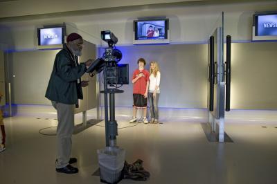 뉴지엄 언론 박물관 내부