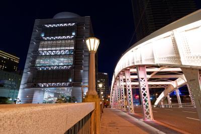 오사카부립 국제회의장, 야경 03