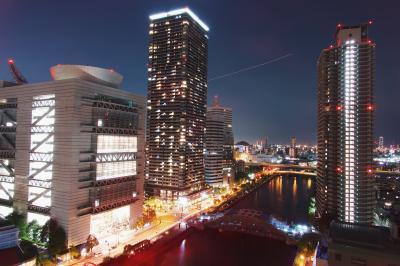 오사카부립 국제회의장, 야경 02
