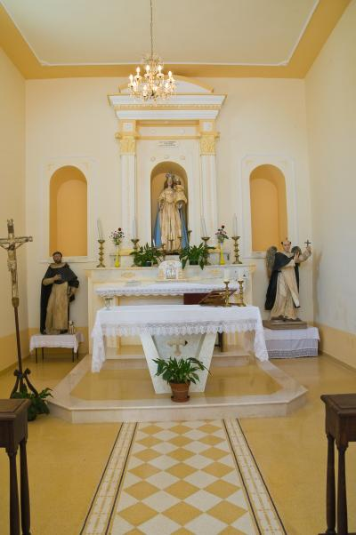 미세리코르디아 디 로카 임페리알레 교회 내부 03