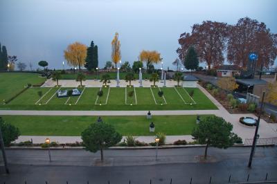 몽트뢰 팰리스 호텔 조망