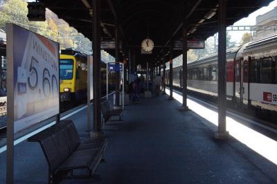 브베 역 플랫폼