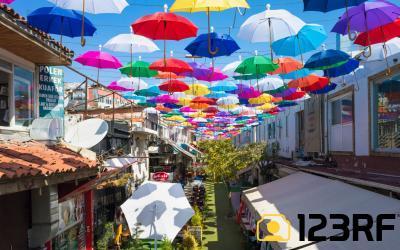 칼레치 우산거리