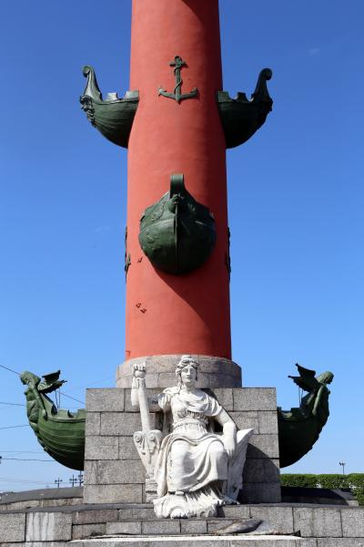 바실리예프스키 섬, 해전 기념 원주 11
