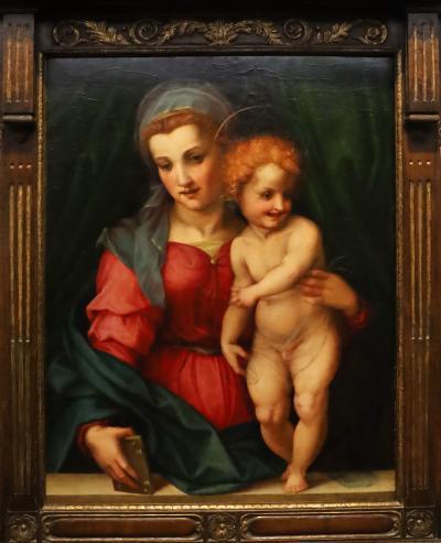 국립서양미술관, 안드레아 델 사르토 '성모자'