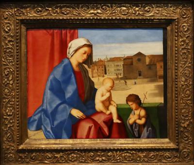 국립서양미술관, 빈첸초 카테나 '성모자와 아기세레자요한'
