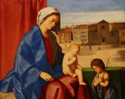 국립서양미술관, 빈첸초 카테나 '성모자와 아기세레자요한' 02