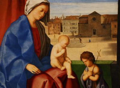 국립서양미술관, 빈첸초 카테나 '성모자와 아기세레자요한' 03
