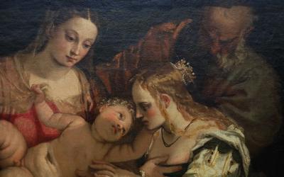 국립서양미술관, 파올로 베로네세 '성녀 카타리나의 신비한 결혼식' 03