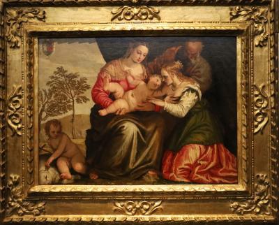 국립서양미술관, 파올로 베로네세 '성녀 카타리나의 신비한 결혼식'