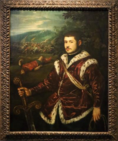 국립서양미술관, 틴토레토 '다비데로 분한 젊은 남자의 초상'
