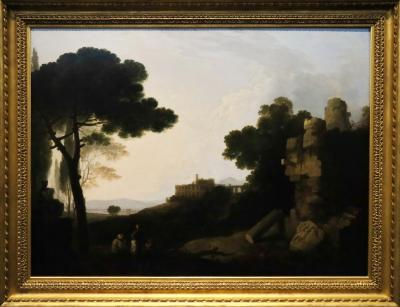 국립서양미술관, 리처드 윌슨 '티볼리 마이케나스저택의 풍경'