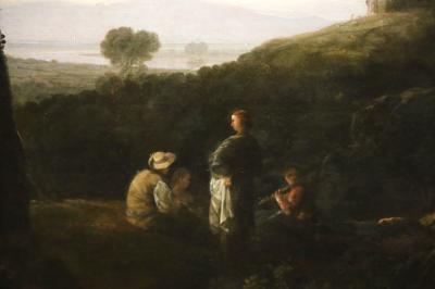 국립서양미술관, 리처드 윌슨 '티볼리 마이케나스저택의 풍경' 03