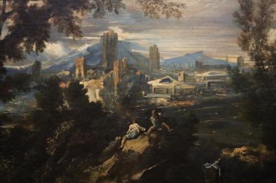 국립서양미술관, 알레산드로 마냐스코 '양치기가 있는 풍경' 03