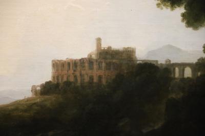 국립서양미술관, 리처드 윌슨 '티볼리 마이케나스저택의 풍경' 02