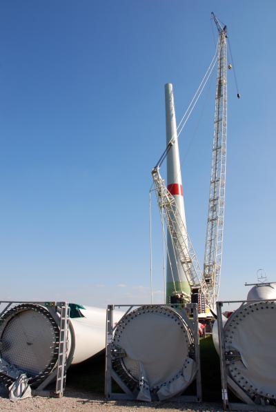 풍력발전 날개설치 08