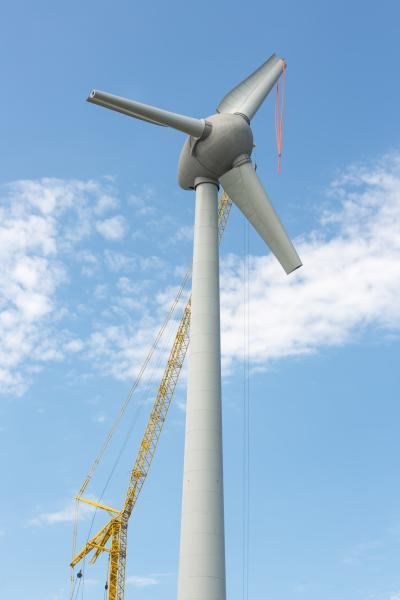 풍력발전 날개설치 09