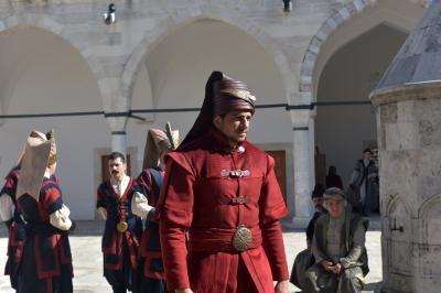 터키 친위보병 재현 행사  04
