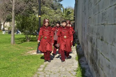 터키 친위보병 재현 행사  03