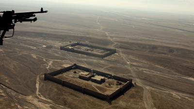 상공에서 본 카불의 풍경 09