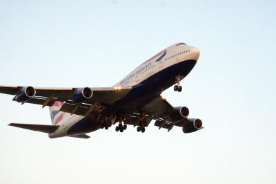 로스앤젤레스 국제공항 착륙 항공기