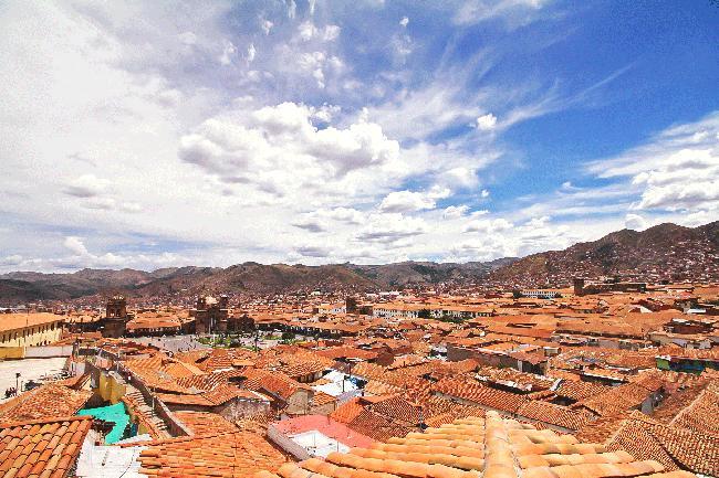 찬란했던 잉카 제국의 배꼽, 쿠스코에 도착하다.