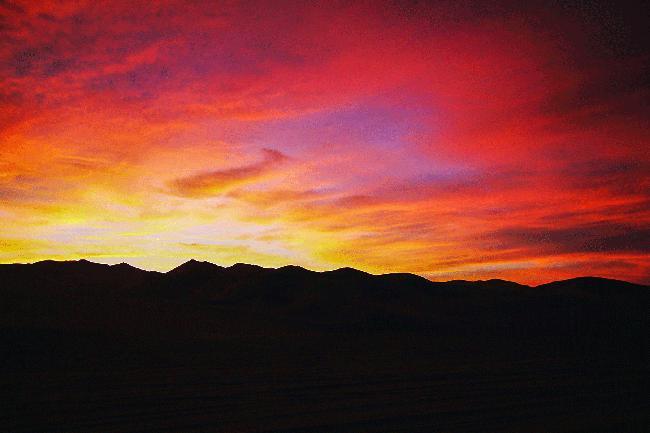 잊을 수 없는 사막의 밤, 모래바람은 기스를 남긴다.