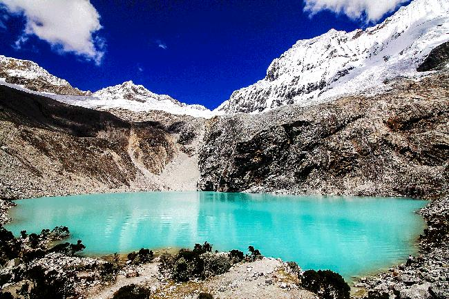 안데스 산맥 69호수를 오르다, 처음 느끼는 기분.