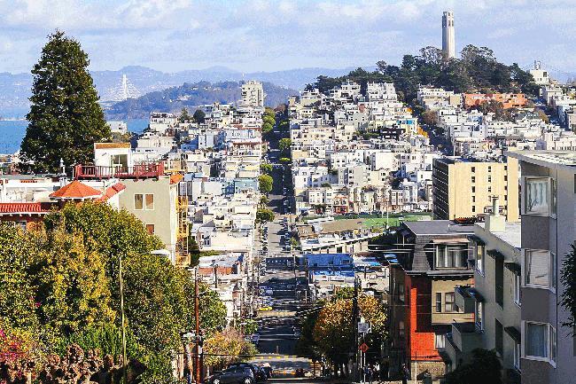 자유로운 히피의 도시 샌프란시스코에 도착하다.