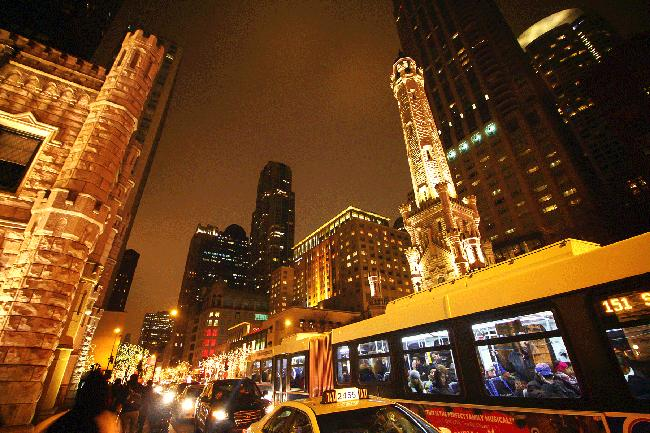 마피아의 도시 시카고, 황금빛 스카이라인.