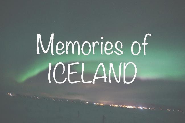 아이슬란드하면 빠질 수 없는 것! 오로라