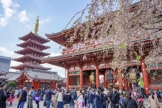 #3. 도쿄 속의 진짜 일본, 아사쿠사와 센소지